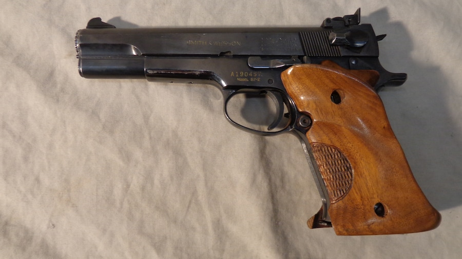 SMITH & WESSON MODEL 52-2