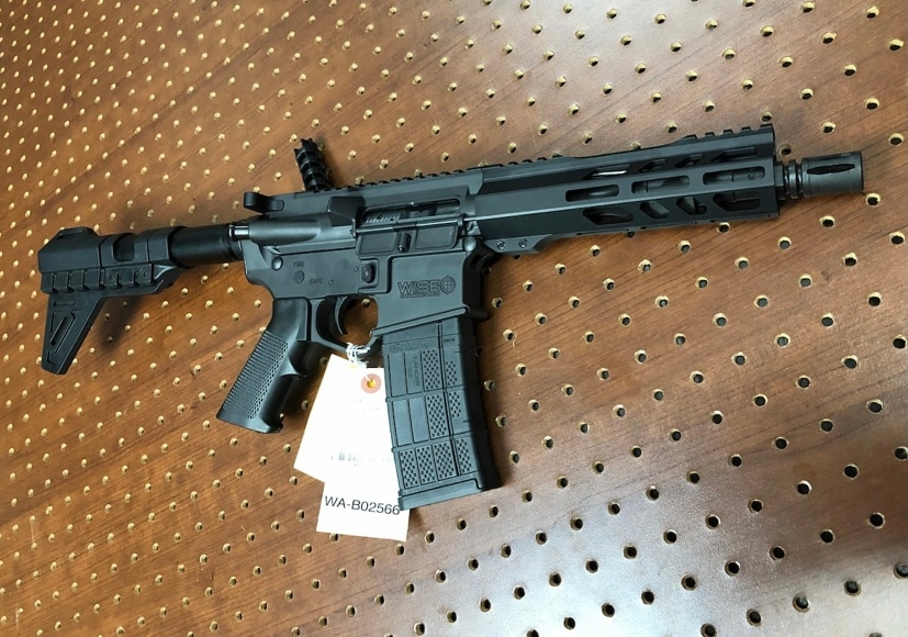 WISE ARMS WISE ARMS wa-15b ar-15 tactical billet pistol