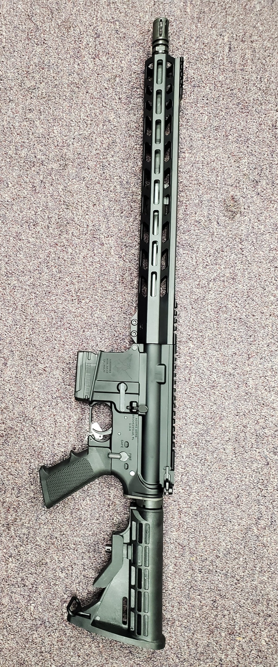 ADAMS ARMS Special Edition Fixed Magazine