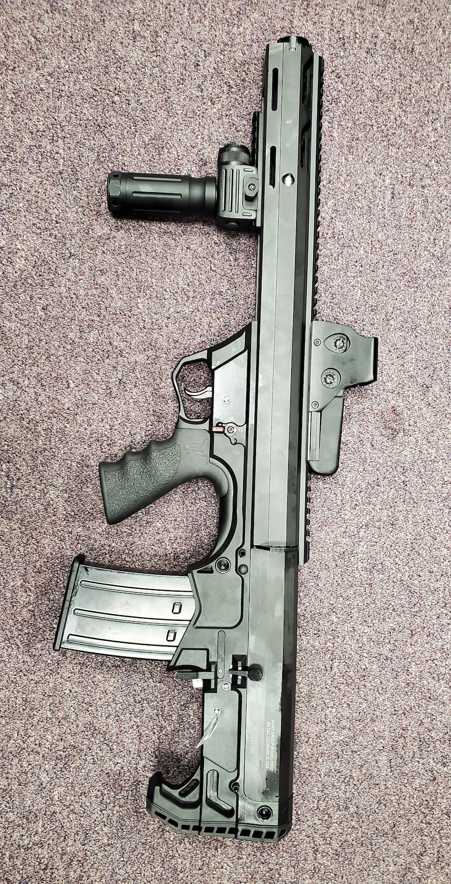 BLACK ACES TACTICAL fd12 with red dot sight and flashlight grip