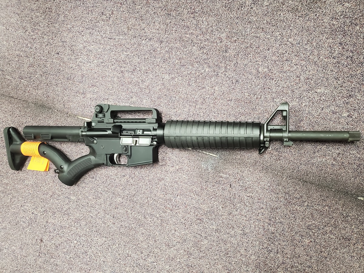ANDERSON MANUFACTURING FEATURELESS AR15 M4 AM15 WITH thordsen stocks and welded barrle