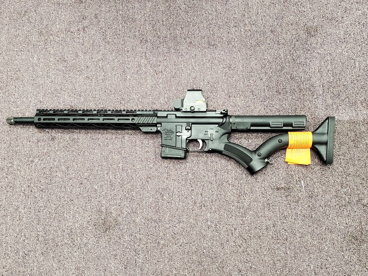 ANDERSON MANUFACTURING red dot package FEATURELESS AR15 M4 AM15 WITH thordsen stocks and welded barrle