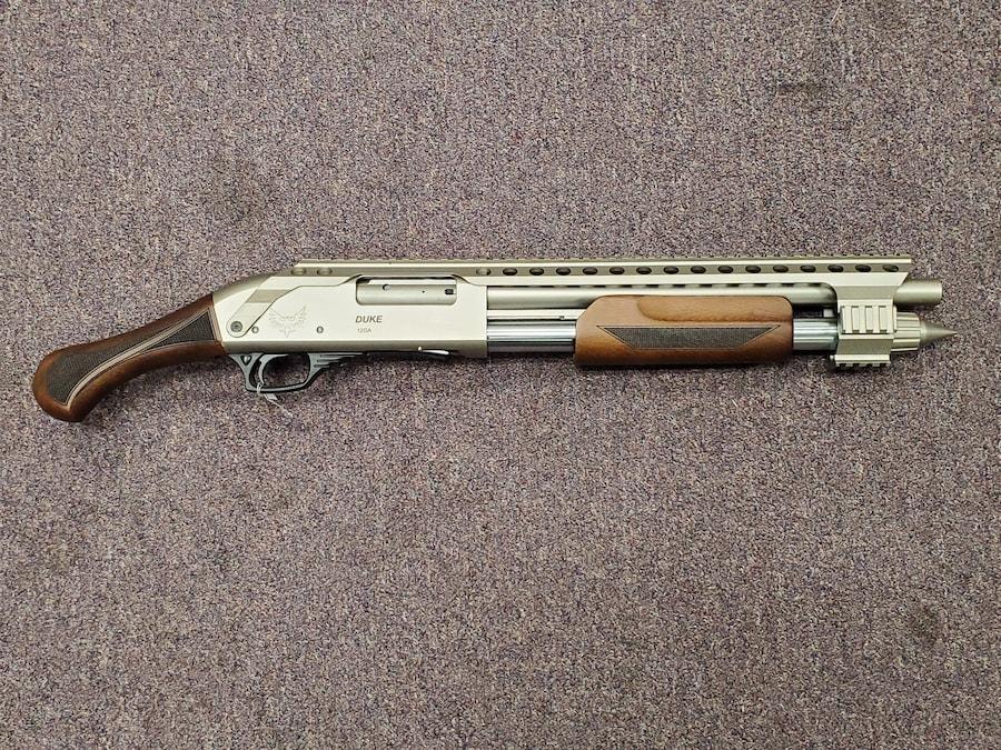 """EMPEROR ARMS DUKE III ULTRA 12GA 18.5"""" BRL PUMP ACTION NON NFA FIREARM"""