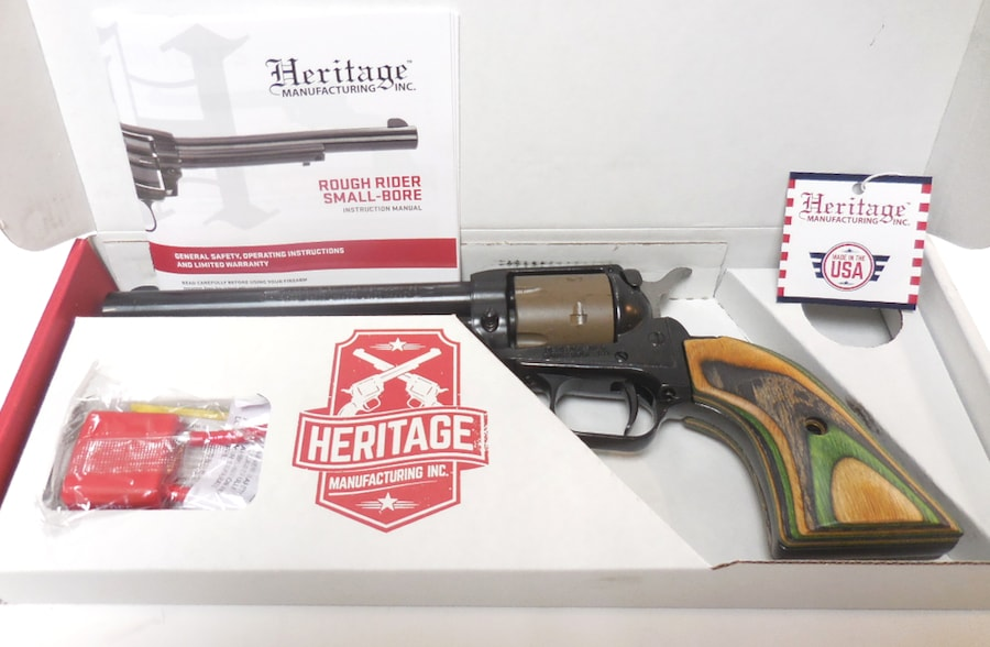 HERITAGE MFG. Rough Rider - RR22B6-TAN