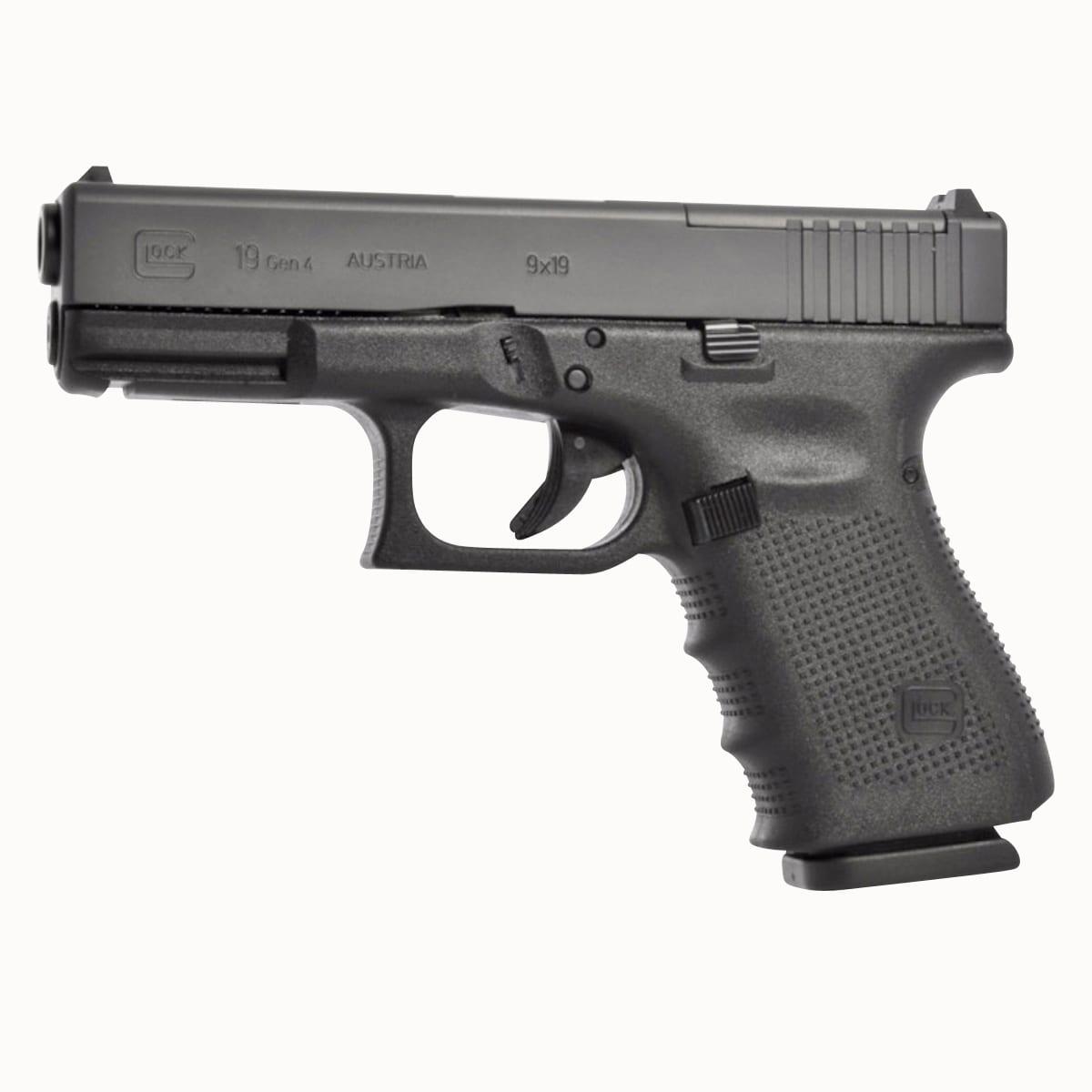 Glock UG1950203MOSTB G19 Gen4 MOS 9mm Luger 4.02