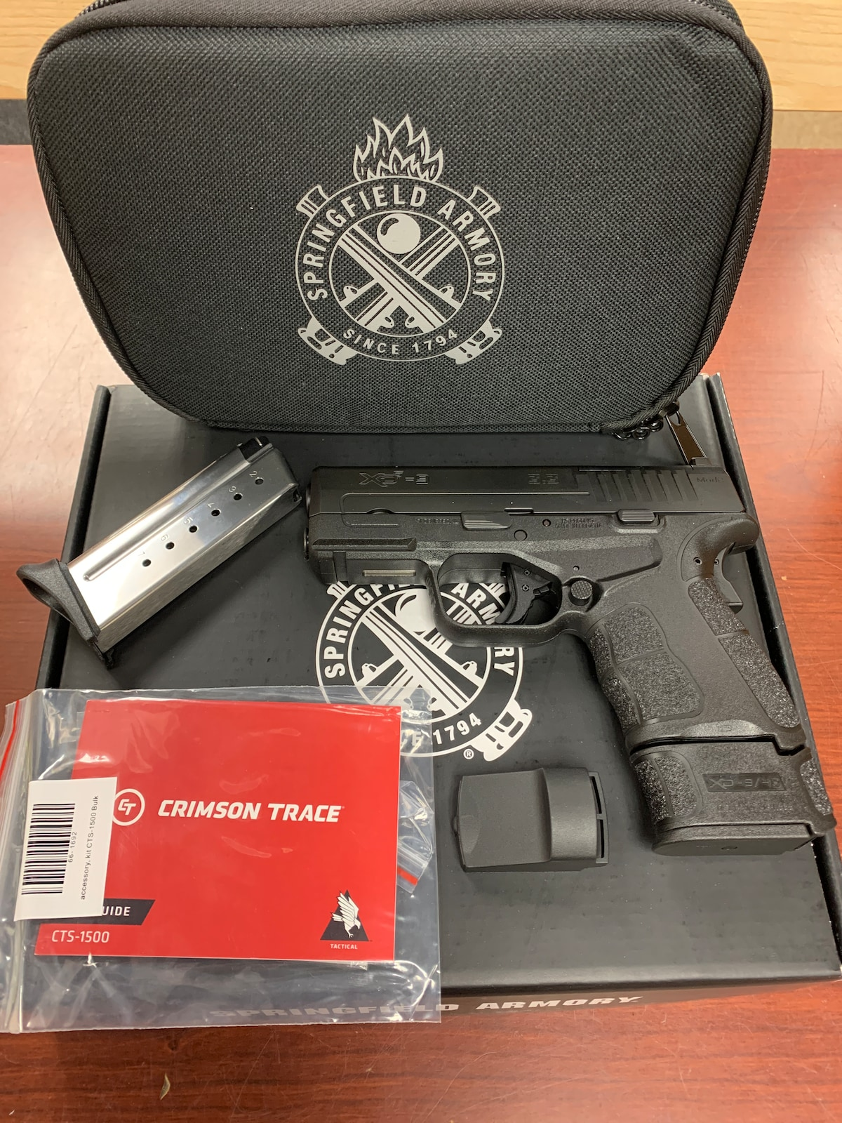 SPRINGFIELD ARMORY XDS-9 3.3 mod2 w/red dot xdsg9339bct