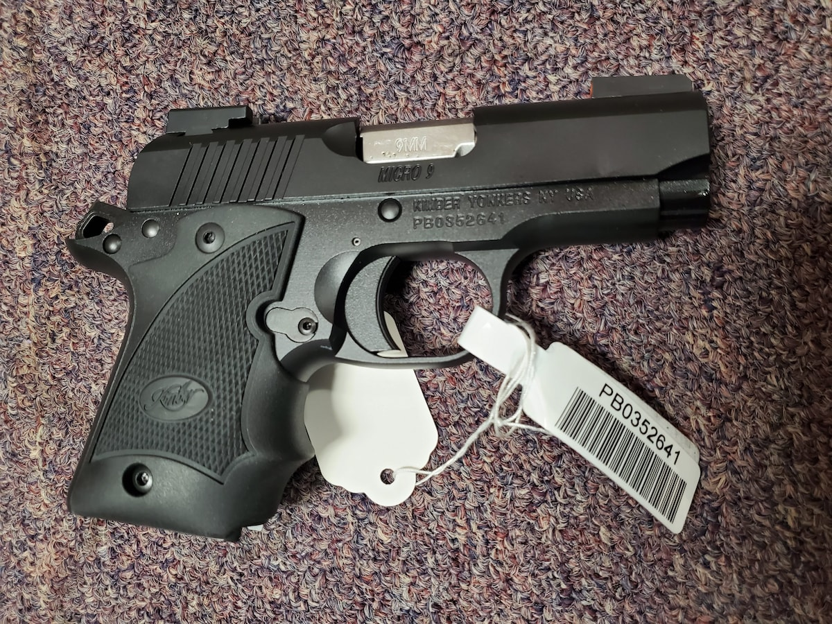 KIMBER SPECIAL EDITION MICRO 9MM NIGHTFALL EDITION