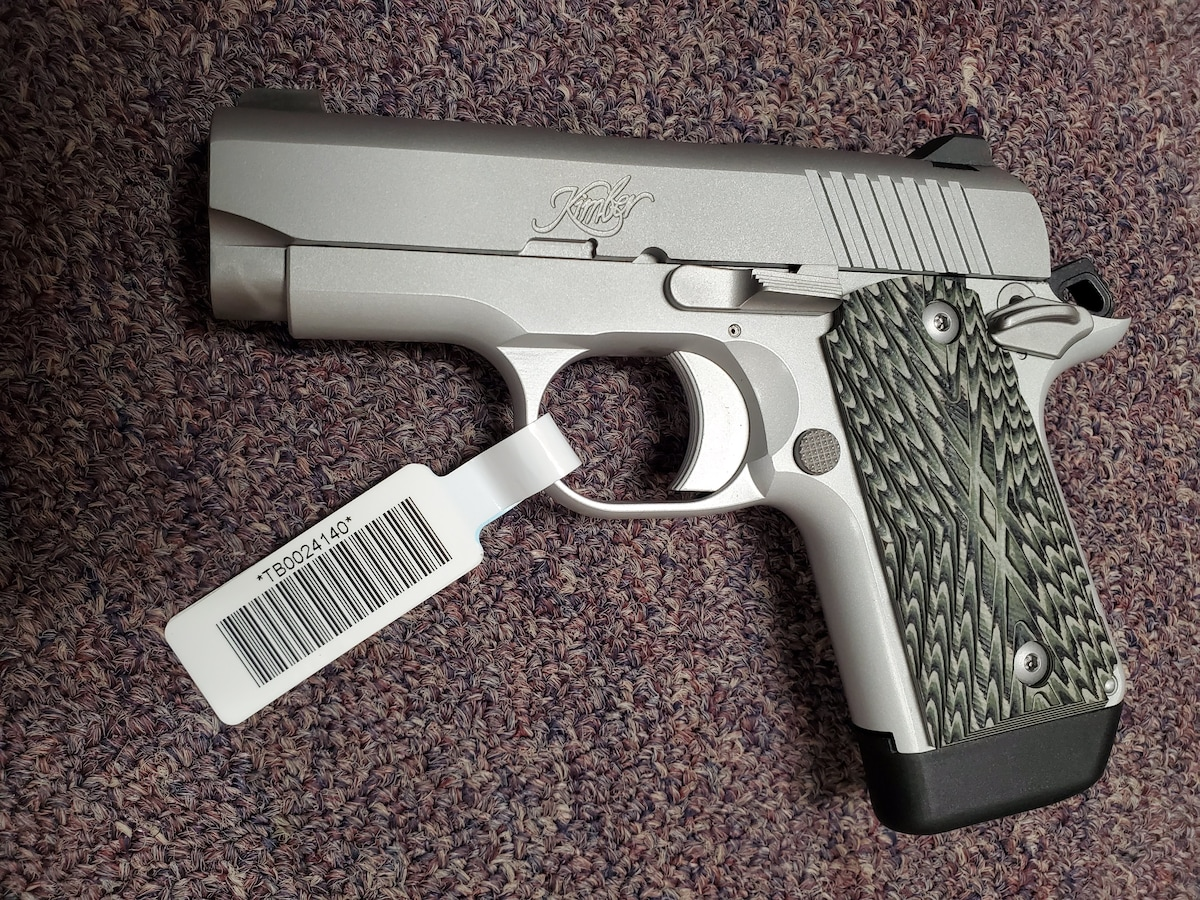 KIMBER SPECIAL EDITION MICRO 9 9MM 1911 STYLE PISTOL
