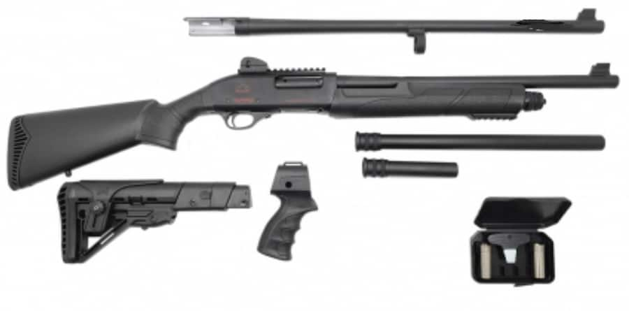 BLACK ACES TACTICAL X Series Tactical Pump package