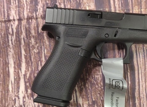 GLOCK 43X 43 X G43X ALL BLACK Remanufactured