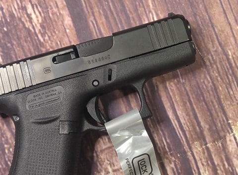 GLOCK 43x G43x all black (REMANUFACTURED)