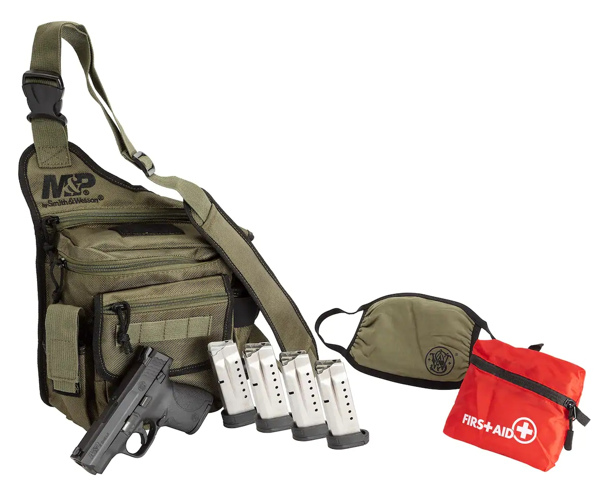 SMITH & WESSON M&P SHIELD BUG OUT BAG BUNDLE-13383