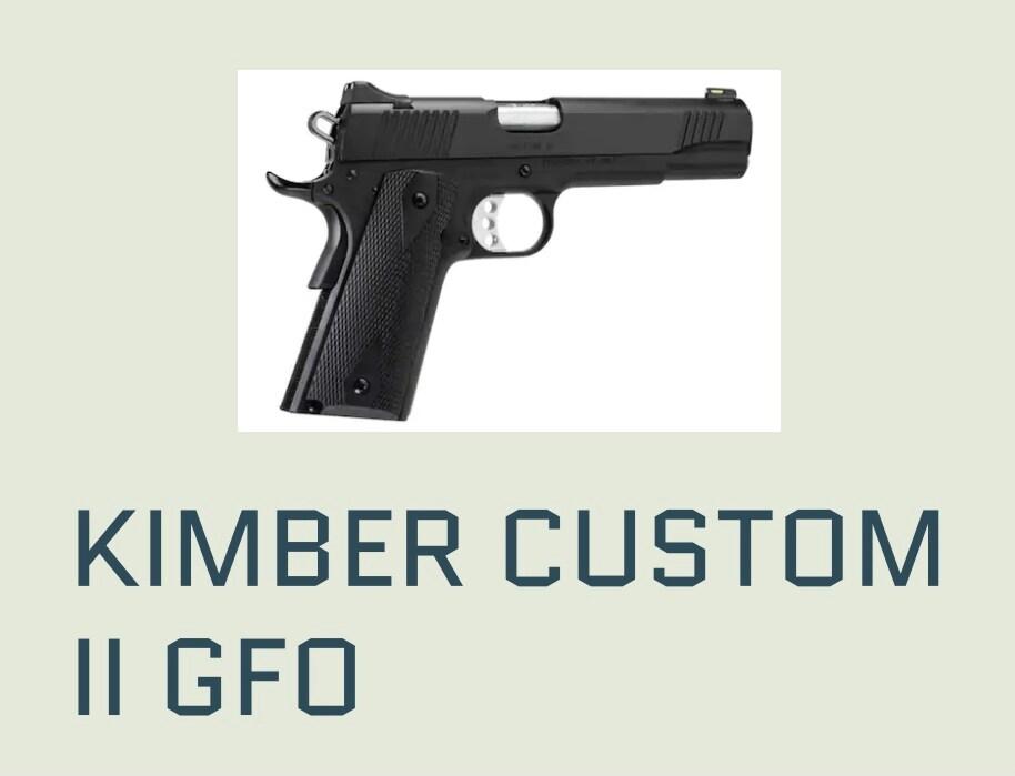 KIMBER CUSTOM II GFO