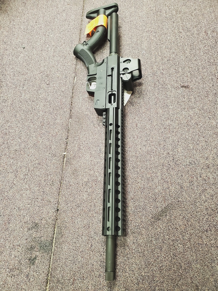 JUST RIGHT CARBINE Special Edition FEATURELESS AR AR-9MM with red dot package