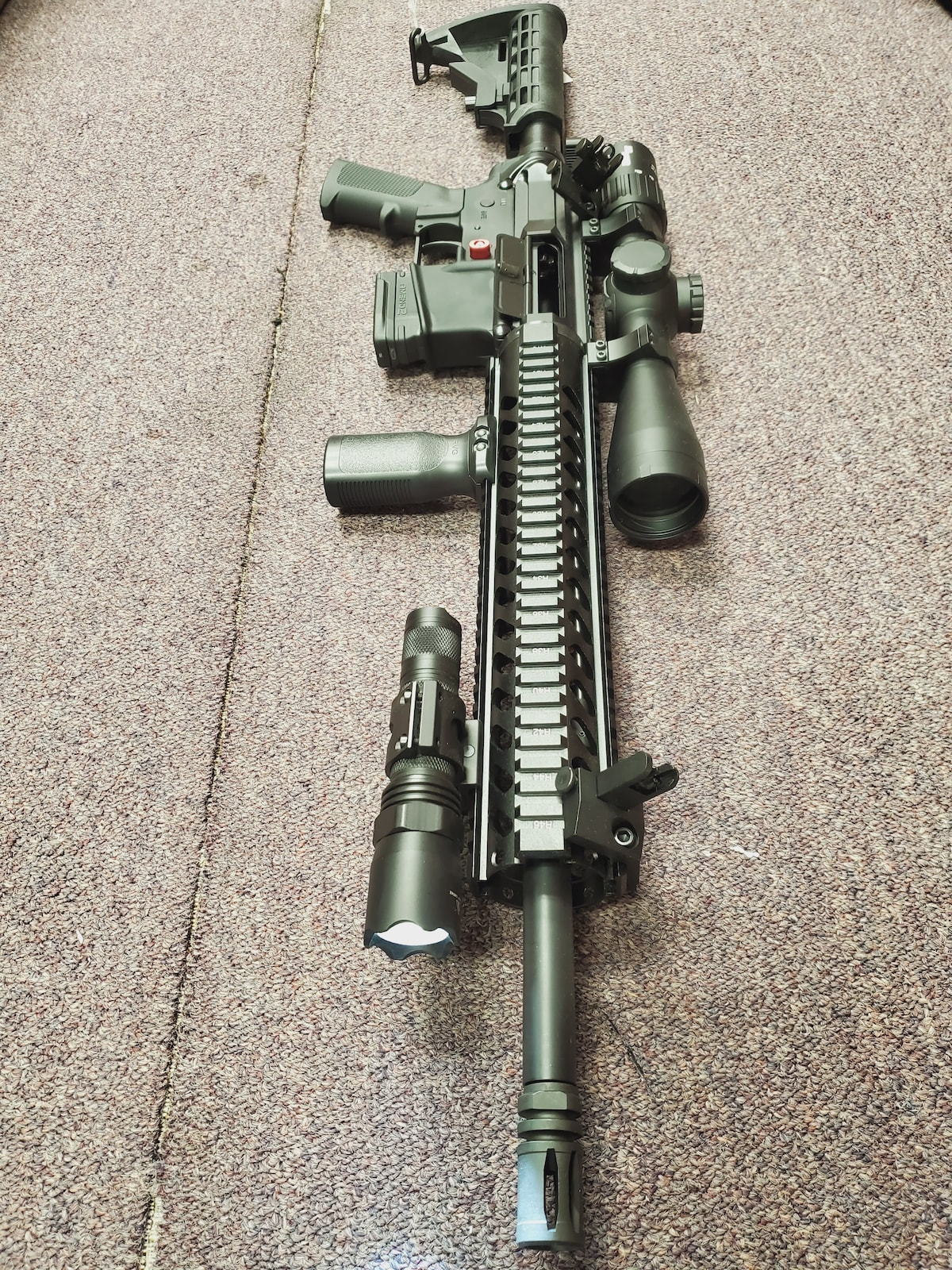ANDERSON MANUFACTURING fully loaded edition fixed magazine m4 ar15 am15