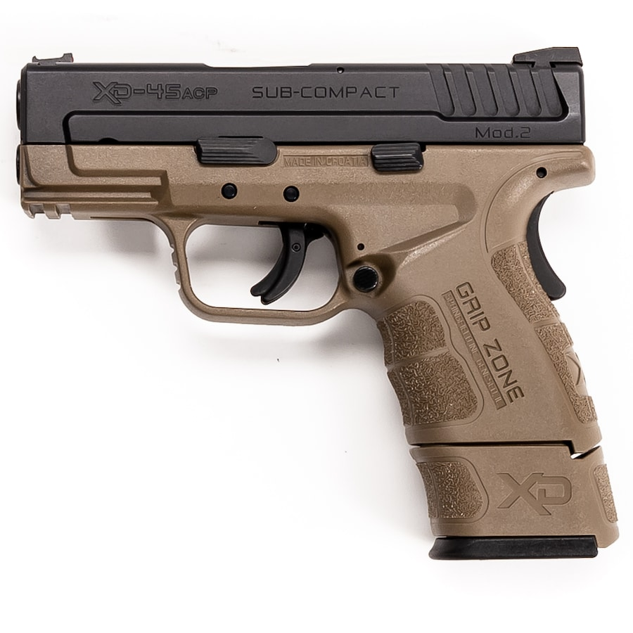SPRINGFIELD ARMORY XD-45 SUB-COMPACT