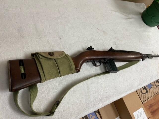 IBM M1 Carbine October 1943 Matching Barrel JT&L Mag Pouch & Sling