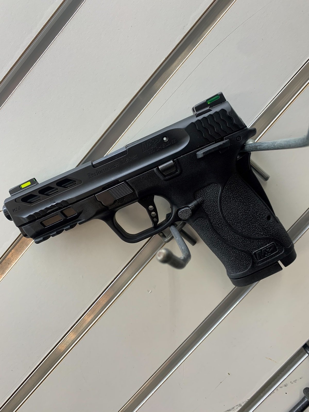 SMITH & WESSON M&P380 SHIELD EZ M2.0 BLACK PORTED BARREL