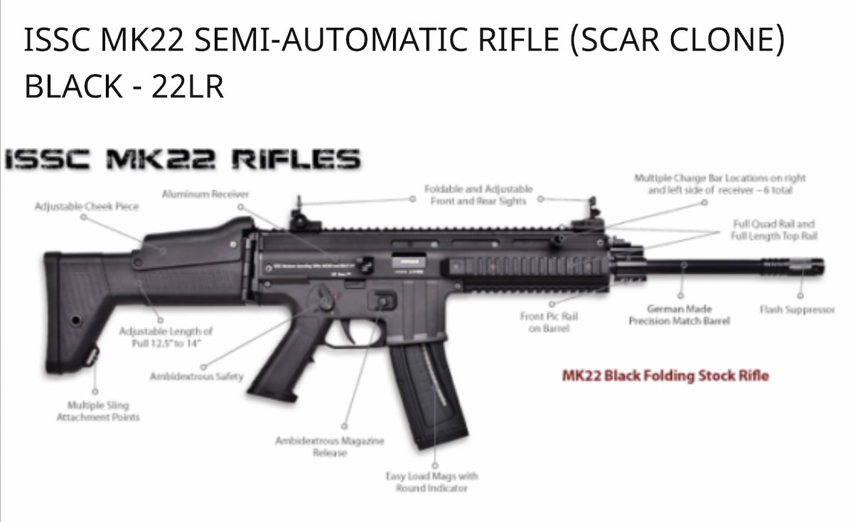 ISSC MK22 Scar Clone 22
