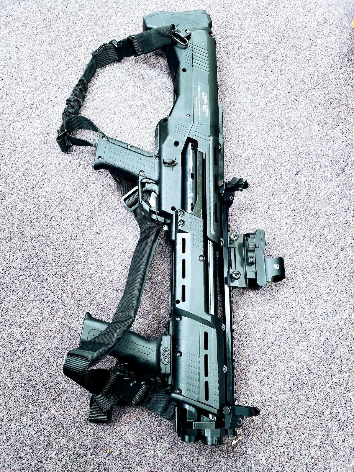 STANDARD MFG. fully loaded dp12 Double Barrel Pump Shotgun