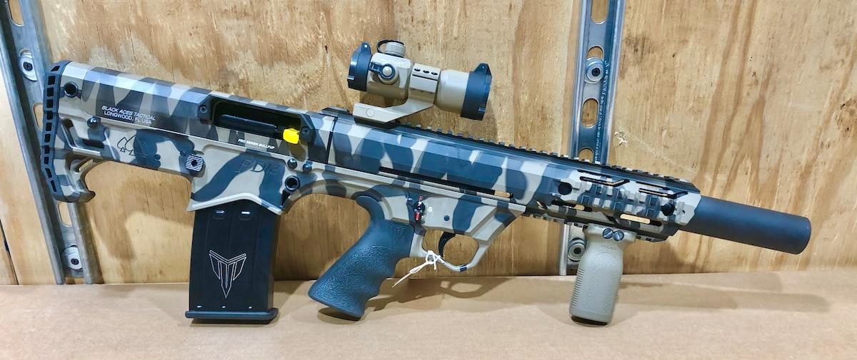 BLACK ACES TACTICAL FD12 BULLPUP PRO SERIES SEMI-AUTOMATIC custom tiger