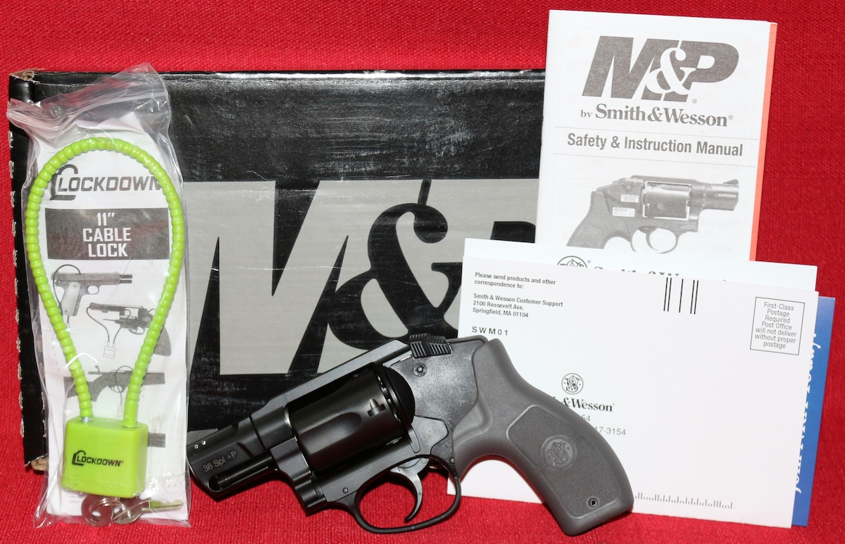 SMITH & WESSON .38 SPL +P M&P BODYGUARD 38