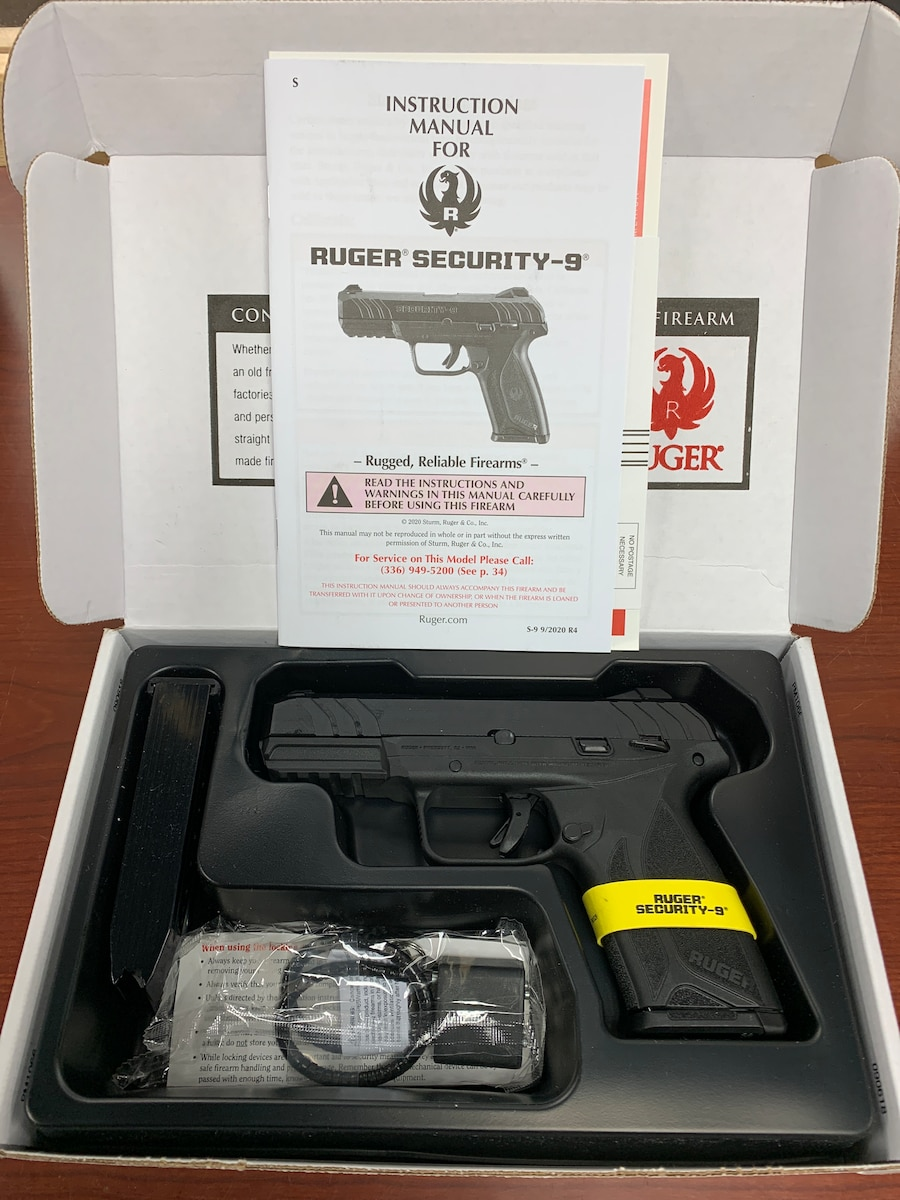 RUGER Security 9 - 3810 03810