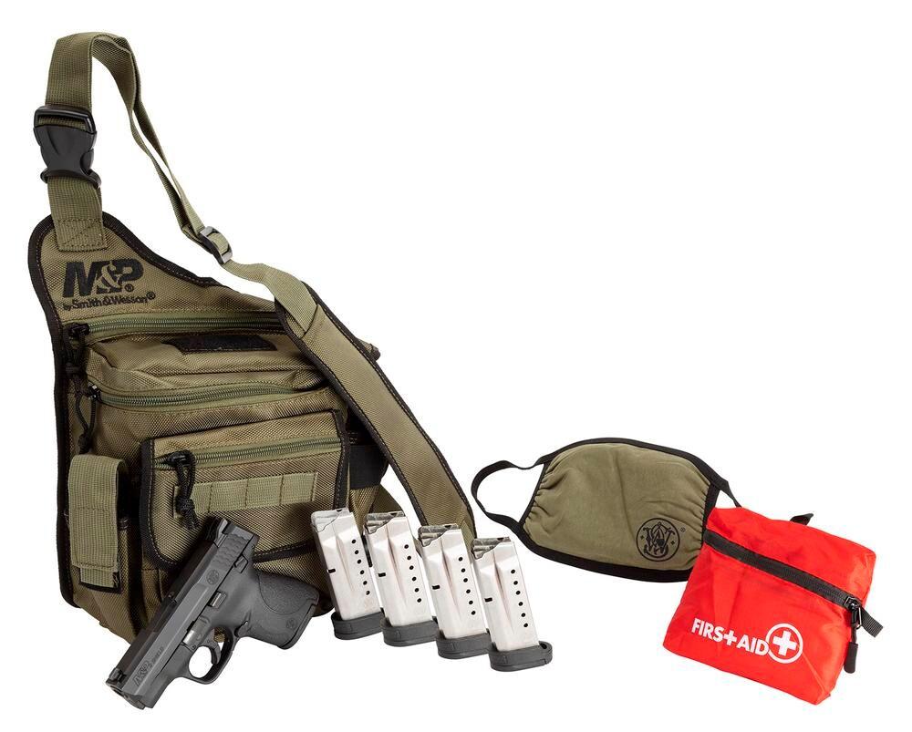 SMITH & WESSON M&P Shield 1.0 Bugout Bag Bundle