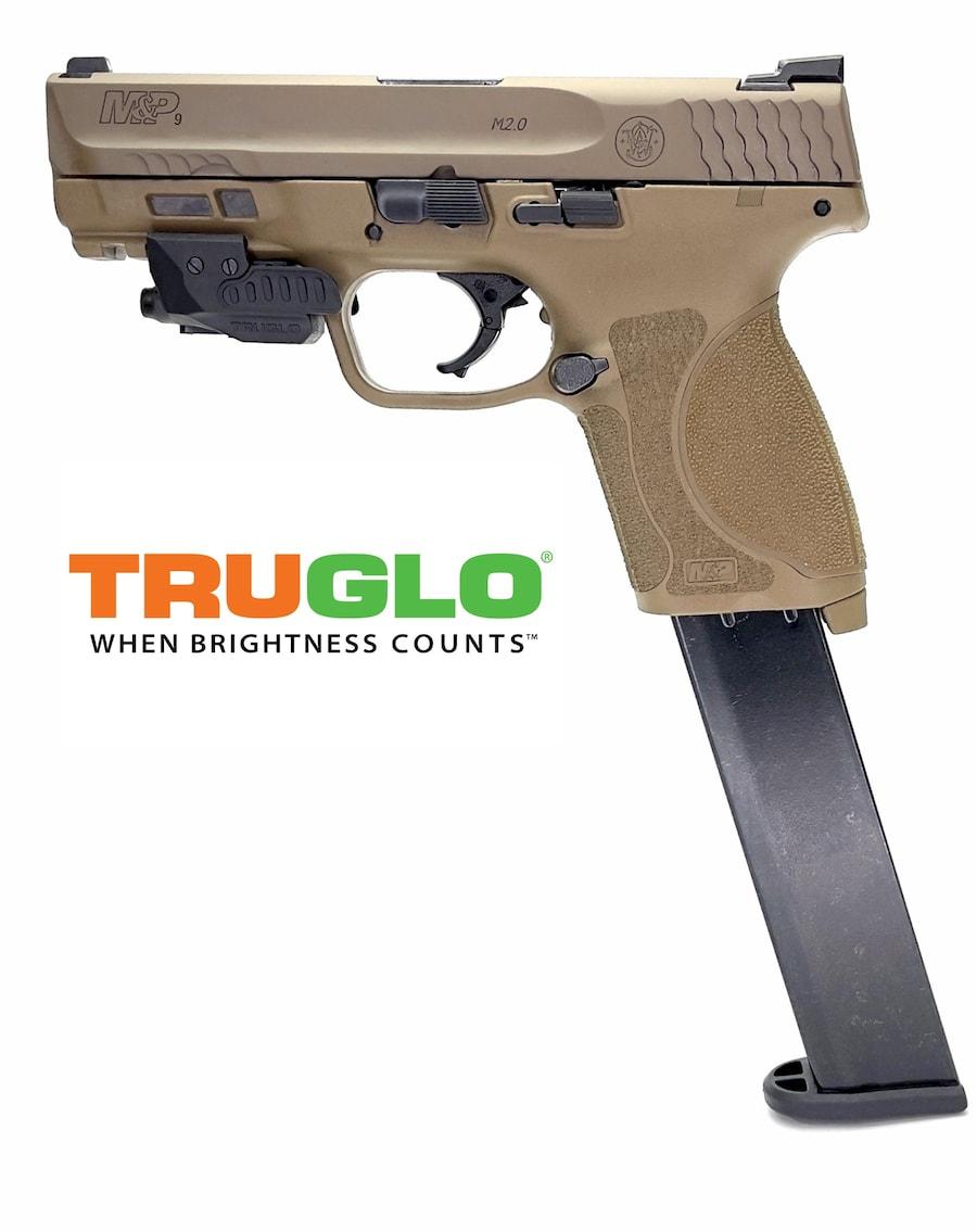 SMITH & WESSON M&P M2.0 Compact 32rd Magazine TruGlo Laser