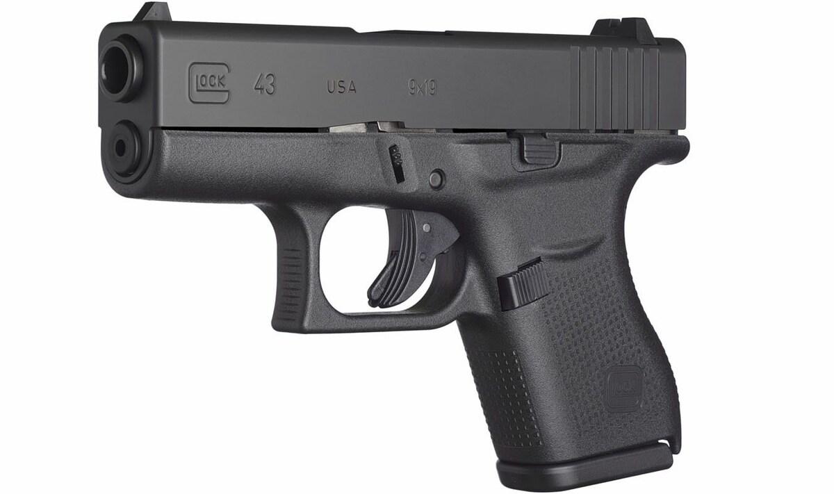 GLOCK G43 43 UI4350201 UPC 764503913358 BLACK