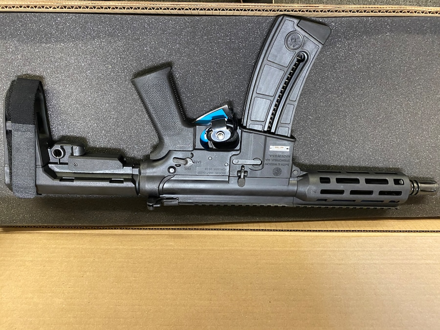 SMITH AND WESSON m&p 15-22p