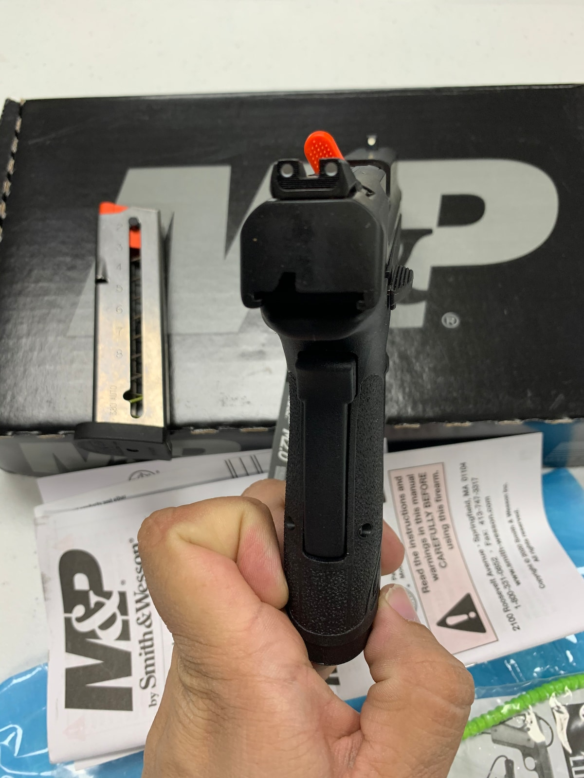 SMITH & WESSON M&P 380 SHIELD EZ M2.0 EXTERNAL THUMB SAFETY