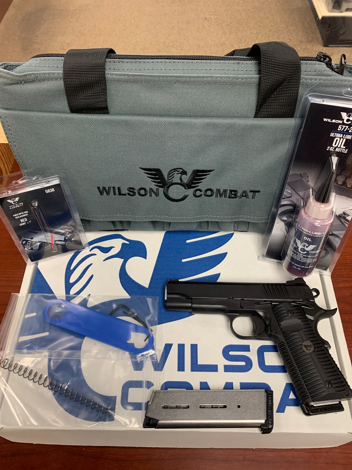 WILSON COMBAT ACP COMMANDER ACP-COM-45 EAGLE CLAW GRIP 810025501044