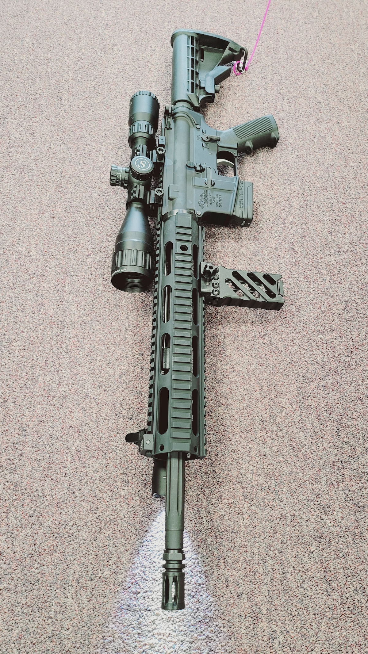 ANDERSON MFG. fully loaded ar15 am15 with 10rd or 30rd magazine