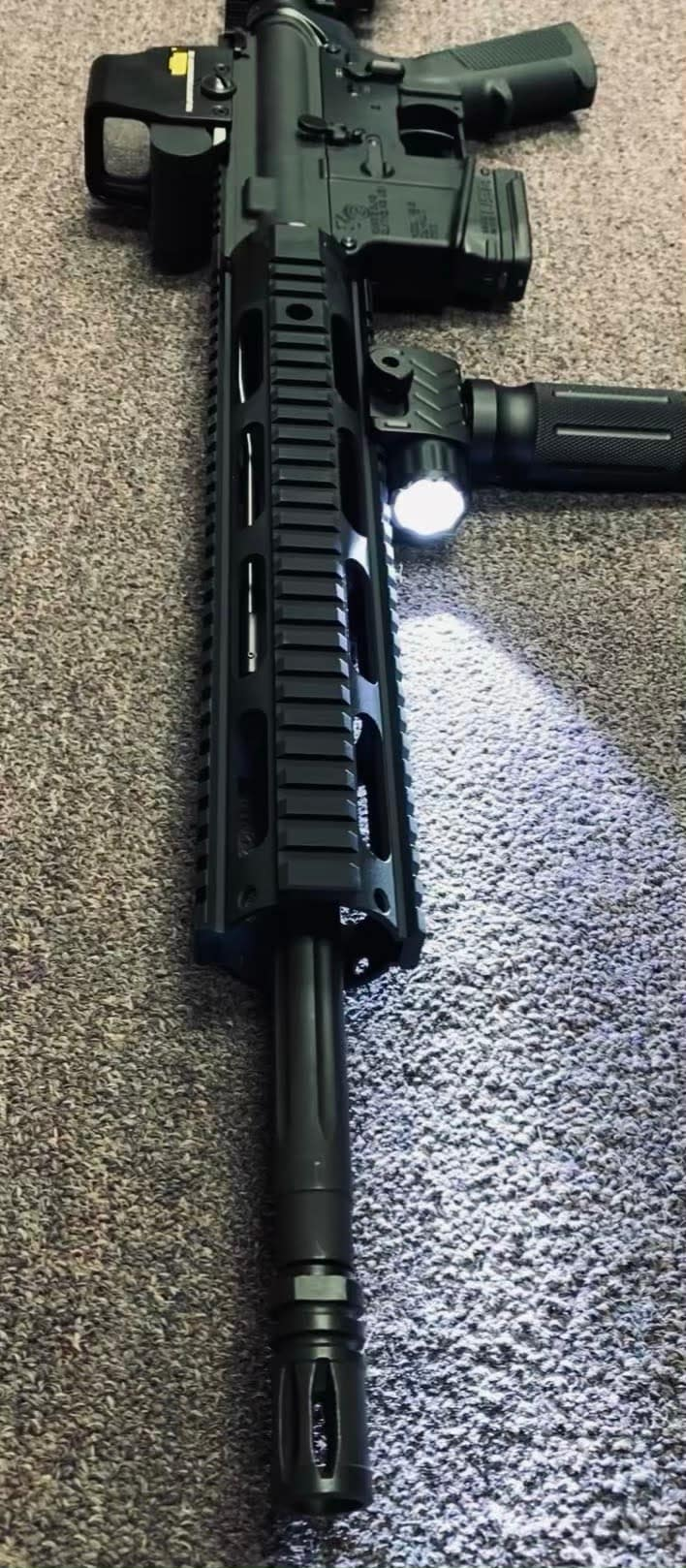 ANDERSON MFG. fully loaded ar15 am15 with 10rd magazine