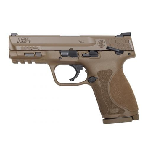 """SMITH & WESSON M&P 9 M2.0 4"""" COMPACT W/ THUMB SAFETY ~ 11686"""