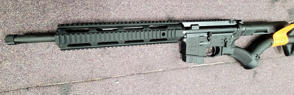 MORIARTI ARMAMENTS Special edition Featureless AR-15 with thordsen stocks