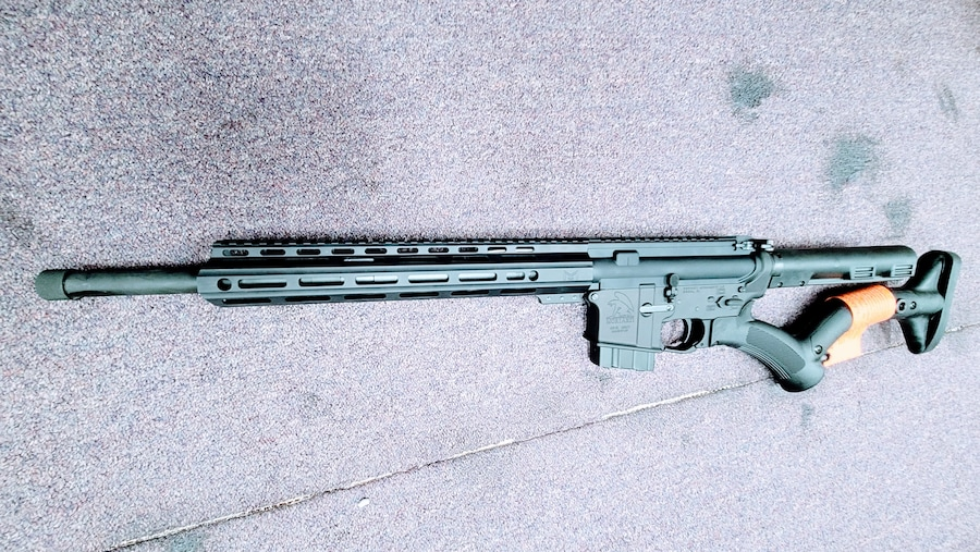 MORIARTI ARMAMENTS Special edition Featureless AR-15 in AK47's Caliber 7.62x39mm with 10 rd magazine