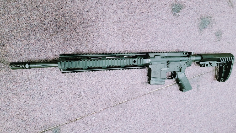 MORIARTI ARMAMENTS special edition ar15 in ak47's caliber 7.62x39mm with 10rd mgazine