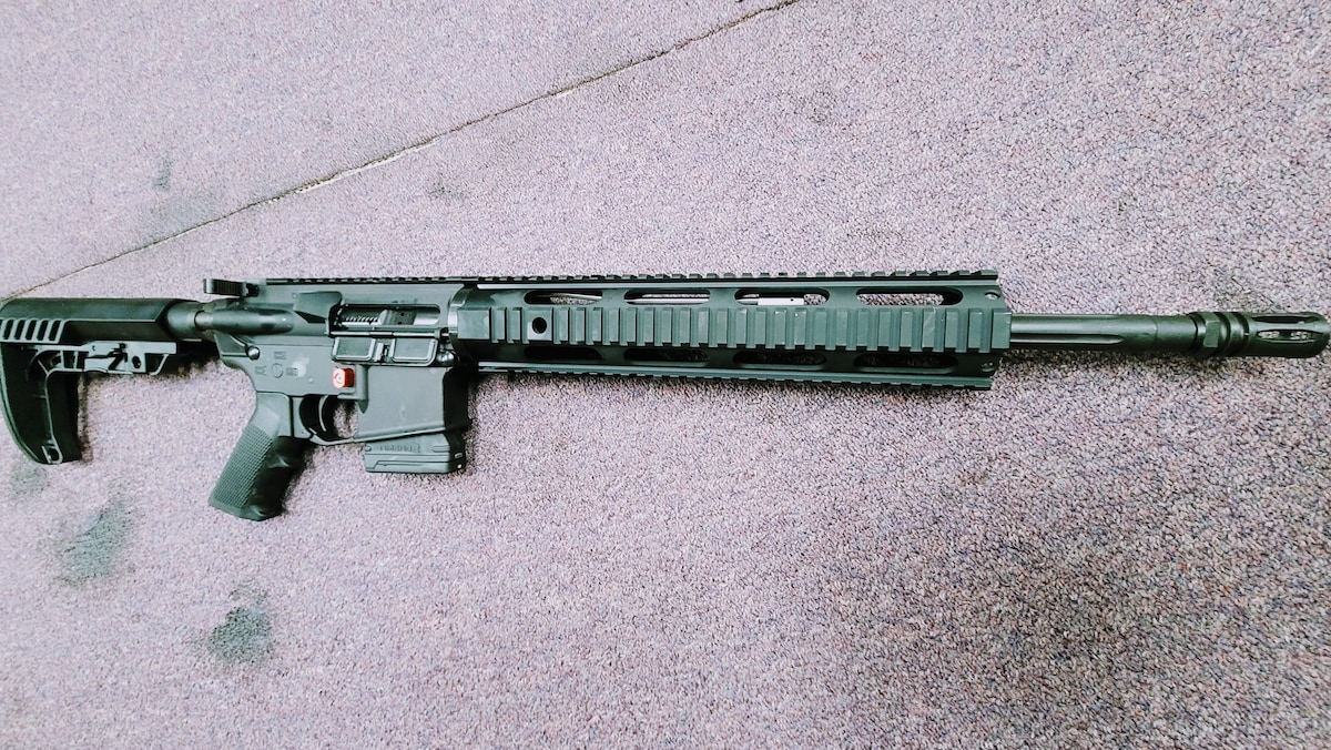 """MORIARTI ARMAMENTS MORIARTI ARMAMENTS SPECIAL EDITION AR15 IN AK47'S CALIBER 7.62X39MM WITH 10RD FIXED MaGAZINE - 7.62 - 10-ROUNDS - 16.5 """""""