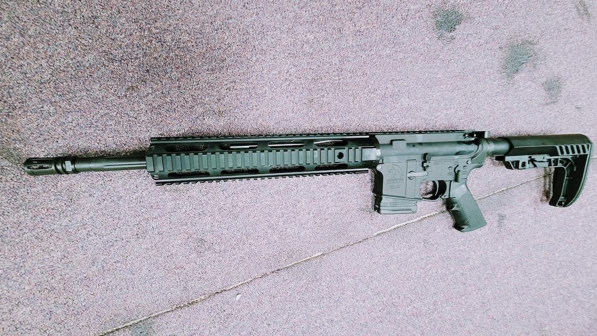 MORIARTI ARMAMENTS AR-15 with 10rd magazine AR15