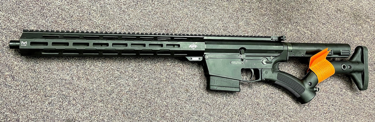 ALEX PRO FIREARMS special edition featureless ar10 with 10rd magazine and thordsen stocks