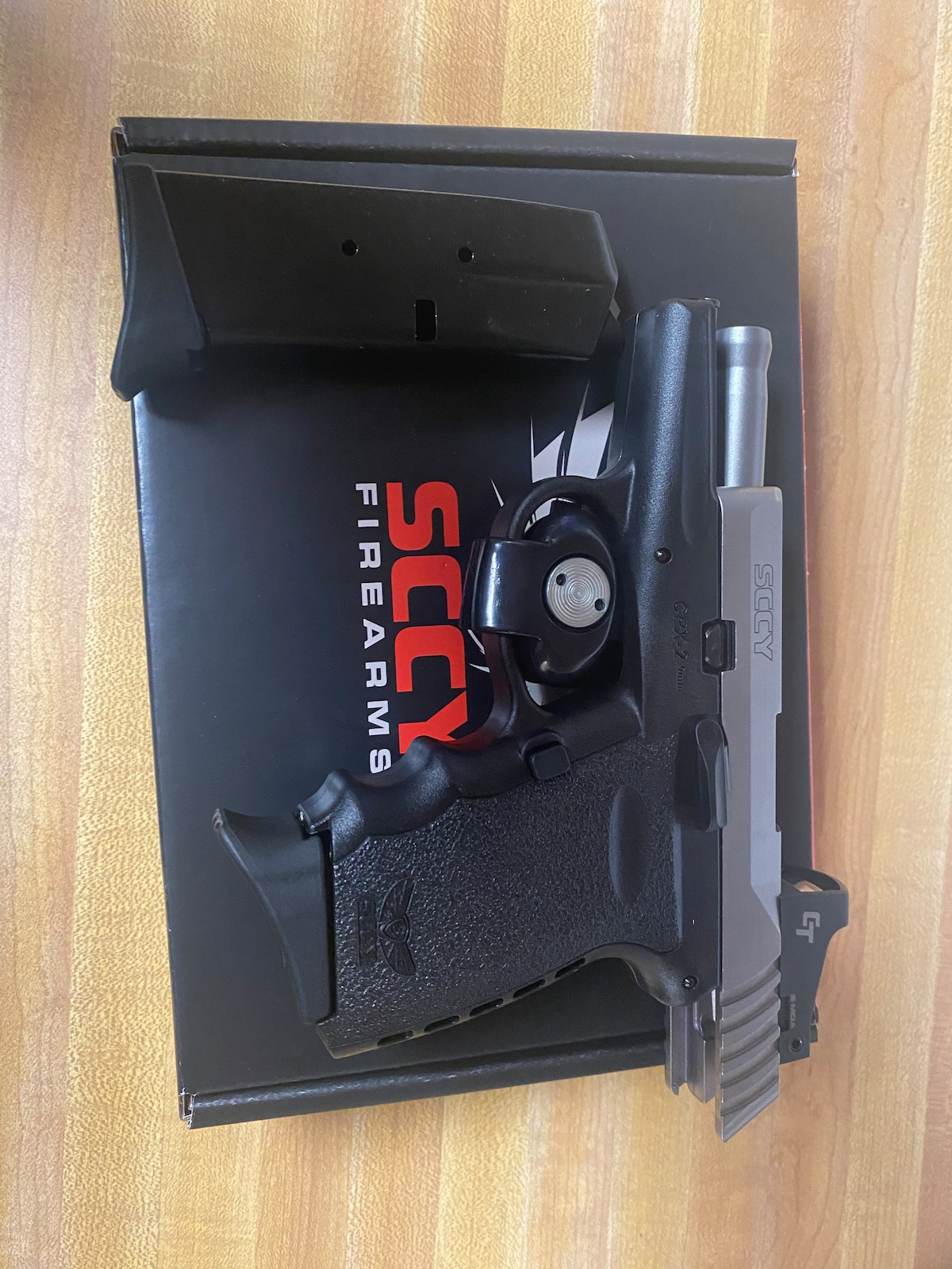 SCCY CPX 2 9mm W/ Crimson Trace Red Dot 10 Round CPX-2TTDERD