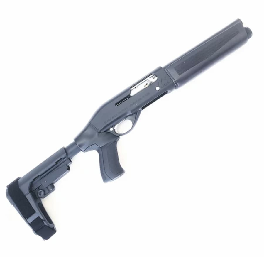 BLACK ACES TACTICAL mini PRO SERIES S (SEMIAUTOMATIC) NOT MOSSBERG, NOT REMINGTON