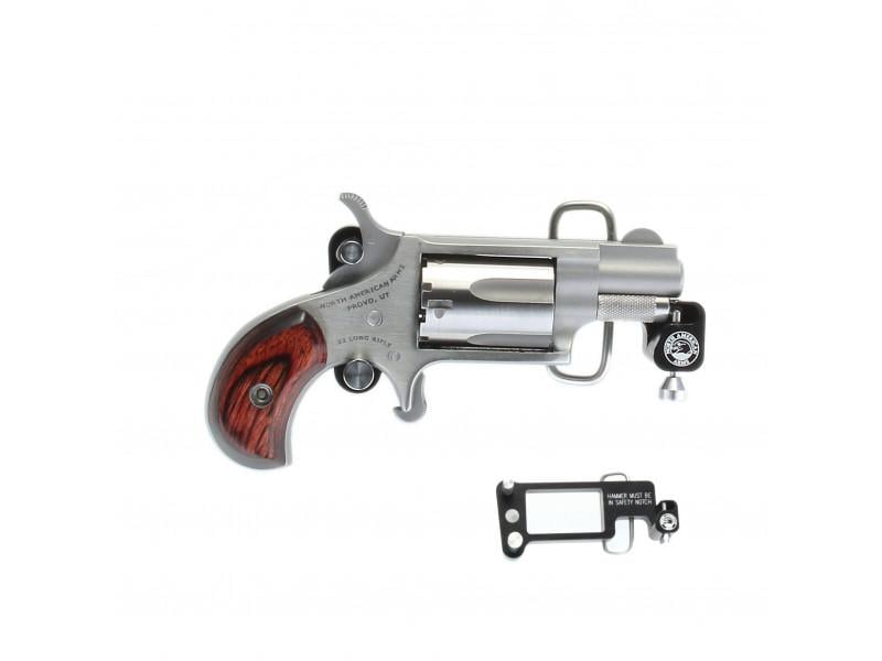 NORTH AMERICAN ARMS North American Arms Mini-Revolver 22 LR NAA-22LR-BBS Belt Buckle
