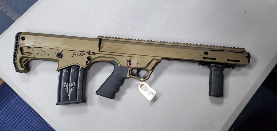 BLACK ACES TACTICAL FD-12 Pump Bullpup Shotgun Bronze