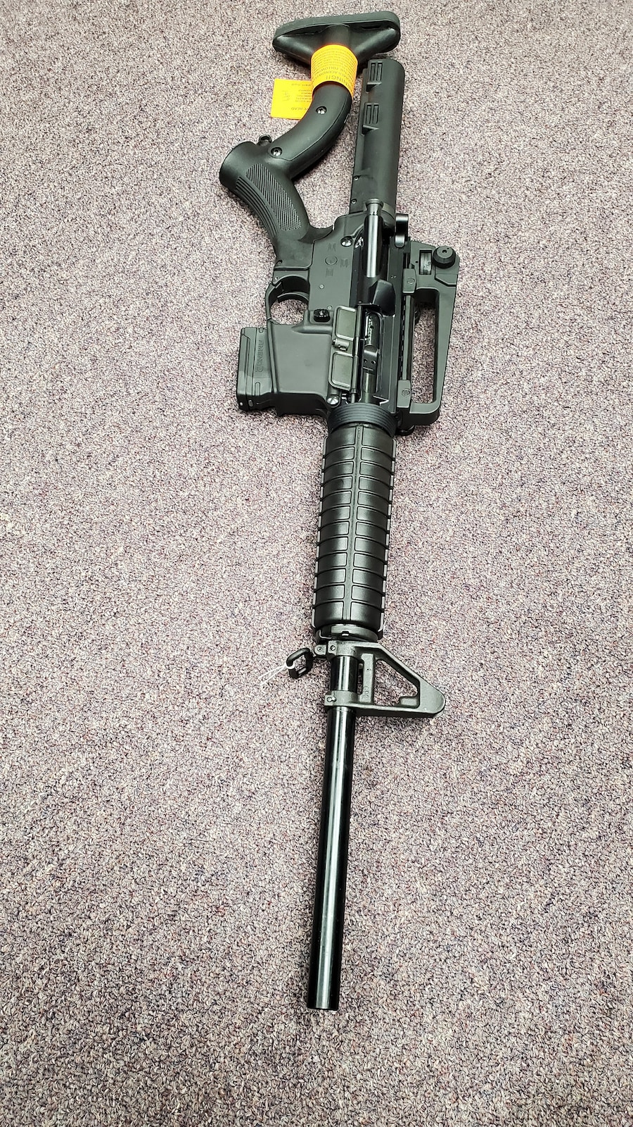 ANDERSON MFG. Featureless AR15 M4 AM15 WITH thordsen stock & non-threaded barrel