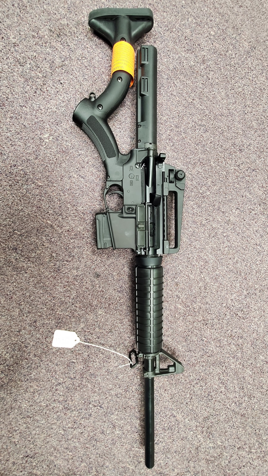 PALMETTO STATE ARMORY Featureless AR15 PA15 AR M4 M16 with THORDSEN STOCK & NON-THREADED BARREL