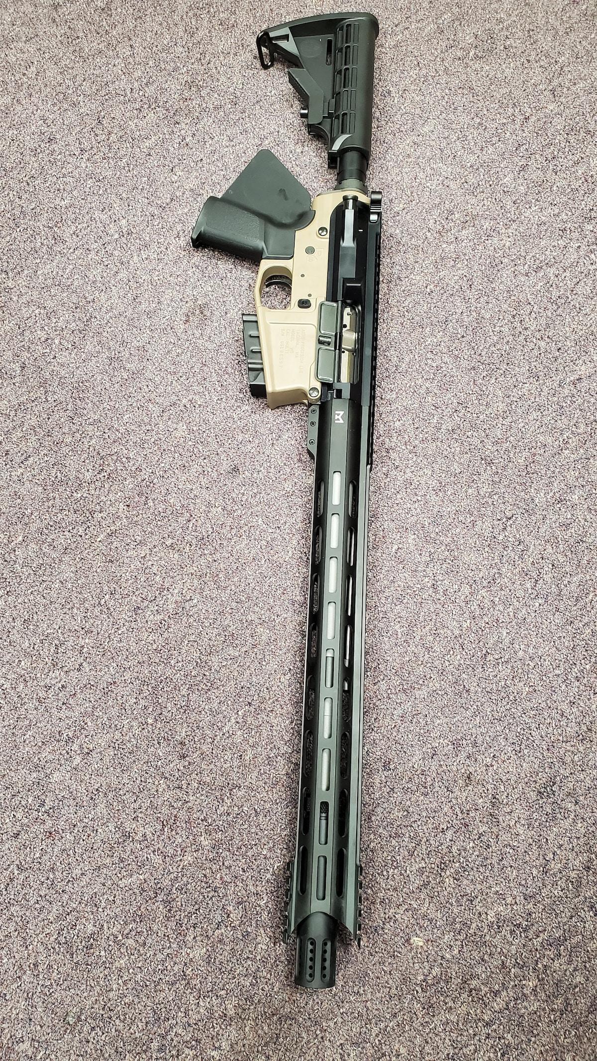 AERO PRECISION Special Edition Featureless AR-10 308 AR M5 with 10 rd magazine