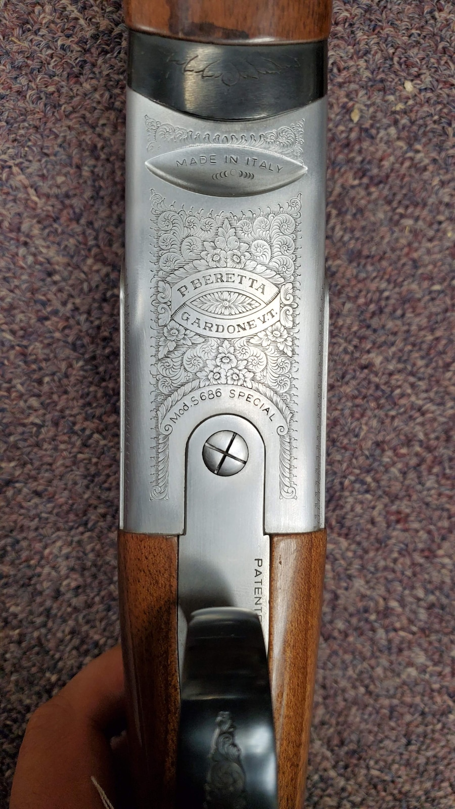 BERETTA s686 special edition made in italy